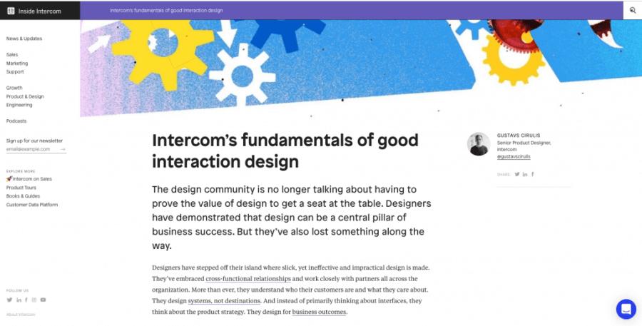 intercom blog